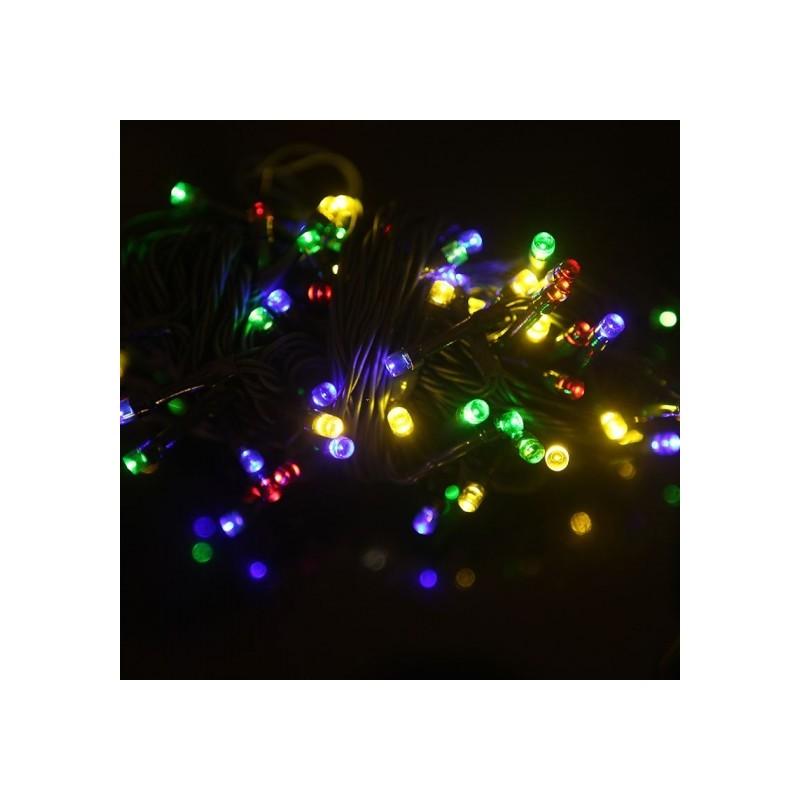 Led lichterkette bunt led partylichterkette lichterkette - Led lichterkette bunt mit fernbedienung ...